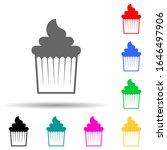 cake multi color style icon....