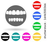 human teeth multi color style...