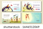 set of web pages for discovery  ...   Shutterstock .eps vector #1646512069