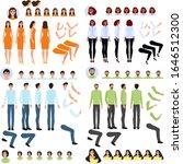 person generator  set of body...   Shutterstock .eps vector #1646512300