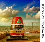 Southernmost Point Sign In Key...