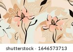 trendy contemporary floral... | Shutterstock .eps vector #1646573713
