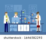 laboratory physics lab... | Shutterstock .eps vector #1646582293