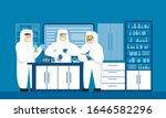 laboratory physics lab... | Shutterstock .eps vector #1646582296