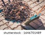 Garden Broom Made Of Hard Pile...