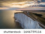 Aerial Shot Of Belle Tout...