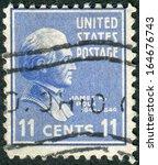 usa   circa 1938  postage stamp ...   Shutterstock . vector #164676743