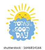 today is a good day motivation... | Shutterstock .eps vector #1646814166