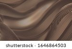metal luxury background drapery ...   Shutterstock . vector #1646864503