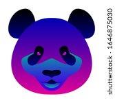 abstract panda head background. ...   Shutterstock .eps vector #1646875030