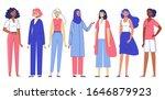 group of women. different... | Shutterstock .eps vector #1646879923