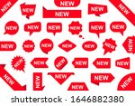 new labels set  stickers  sale... | Shutterstock .eps vector #1646882380