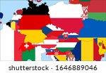center the map of czech... | Shutterstock .eps vector #1646889046