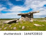 Poulnabrone Dolmen In The...