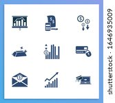 commerce icon set and online...