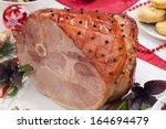 Roasted Spiced Ham On Holiday...