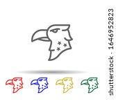 eagle  usa multi color style...