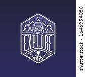 go explore  outdoors  camping ...   Shutterstock .eps vector #1646954056