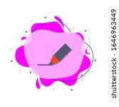 felt tip pen colored icon....