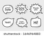 comic chat bubbles. super...   Shutterstock .eps vector #1646964883
