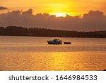 Sunset At Lake Macquarie Nsw...
