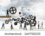 conceptual image of...   Shutterstock . vector #164700233