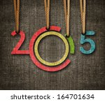 Happy New Year 2015   Numbers...