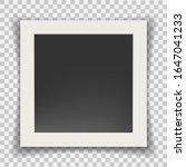 retro photo frame. square... | Shutterstock .eps vector #1647041233