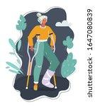 vector cartoon illustration of...   Shutterstock .eps vector #1647080839