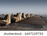 The Pier At Yzerfontein Sticks...