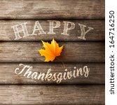 happy thanksgiving background ...   Shutterstock .eps vector #164716250