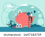 micro male characters putting... | Shutterstock .eps vector #1647183739