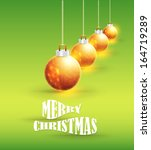 merry christmas and happy new... | Shutterstock .eps vector #164719289