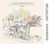 tiruvannamalai  tiru   tamil... | Shutterstock .eps vector #1647207160