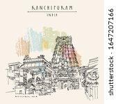 kanchipuram  kanchi   tamil... | Shutterstock .eps vector #1647207166