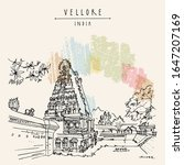 vellore  tamil nadu  south... | Shutterstock .eps vector #1647207169