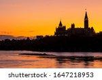 Parliament Hill In Ottawa ...
