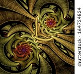 Abstract Fractal Image Colorfu...