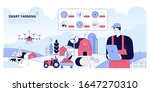 smart farming and digital... | Shutterstock .eps vector #1647270310