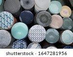 motive of decorative ceramic... | Shutterstock . vector #1647281956