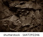 Brown Stone Background....
