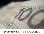 macro  pln  polish 100 zloty... | Shutterstock . vector #1647370873