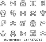 set of business people icons ... | Shutterstock .eps vector #1647372763