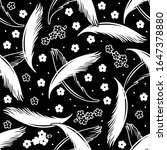 vector seamless pattern with... | Shutterstock .eps vector #1647378880
