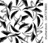 vector seamless pattern with... | Shutterstock .eps vector #1647378883