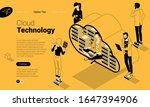 Flat Design Isometric Concept...