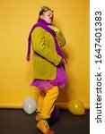 Clown Character Actress Woman...