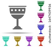 goblet in multi color style...