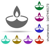 diwali in multi color style...