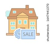 sale of a house at a percentage ...